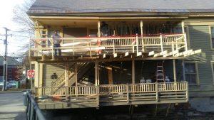 Exterior Deck Repair