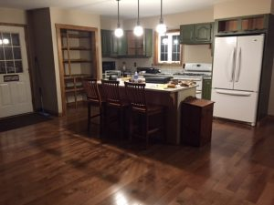Protech remodels kitchens.